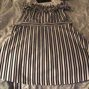 Kate Spade candy stripe dress size 8